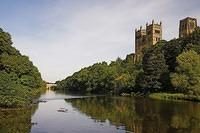 We took a one-hour cruise down the River Wear on Monday and went past Durham Cathedral, which you can see on the right.