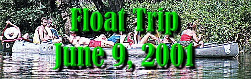 2001 Float Trip Photo Gallery